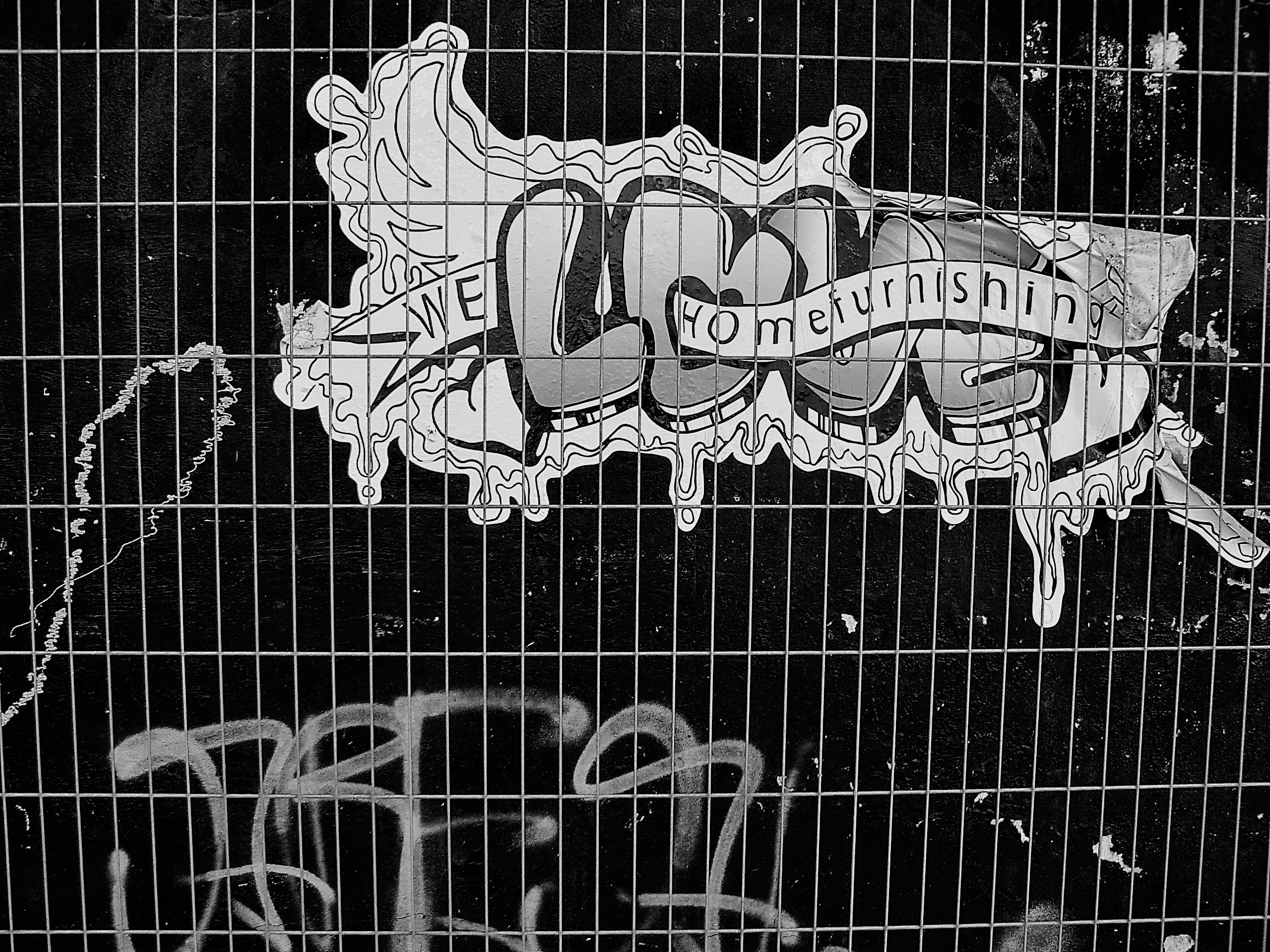 02200 | berliner mauern | berlin, black and white, streetart
