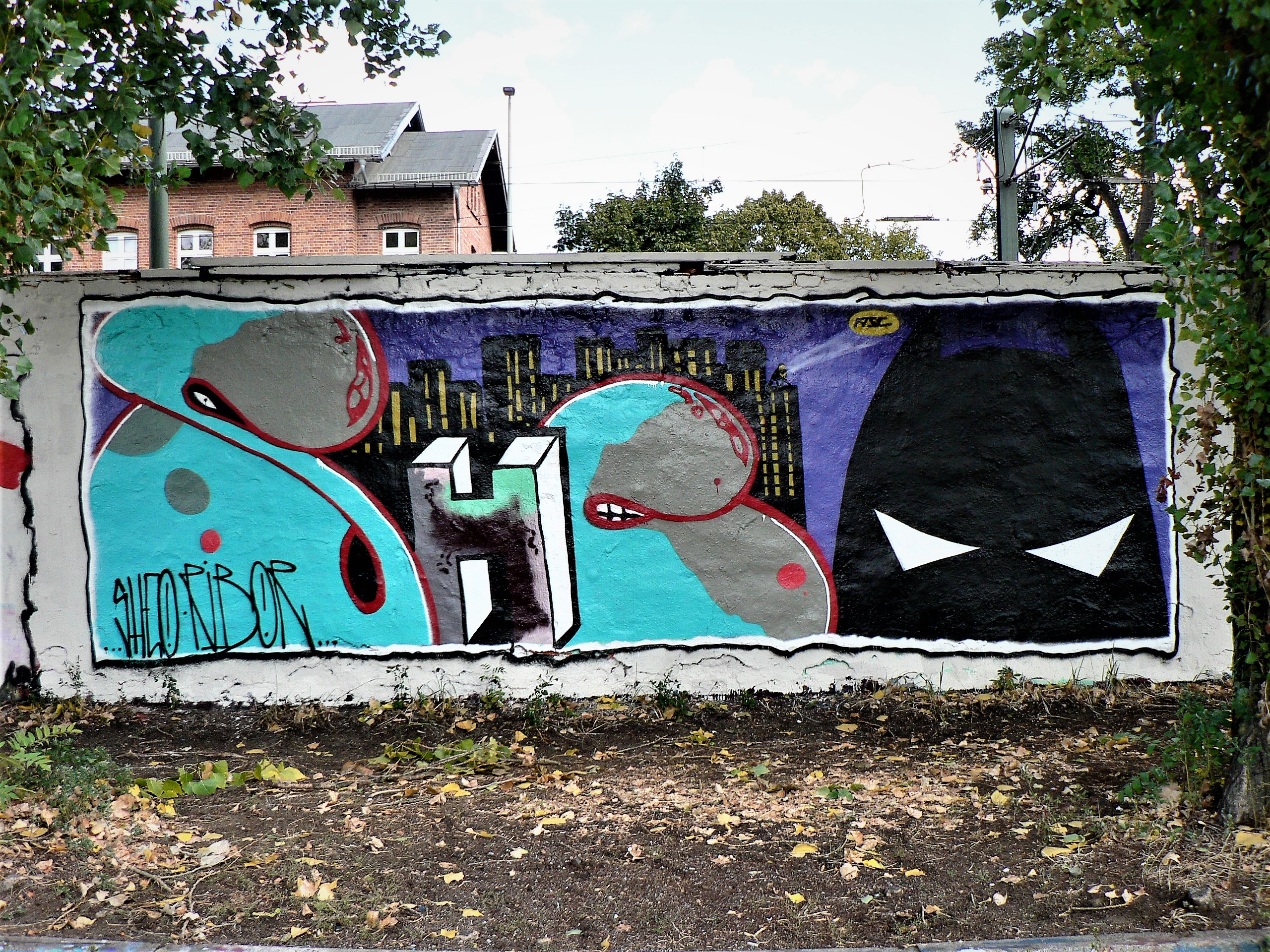 02621 | berliner mauern | berlin, graffiti, spraying