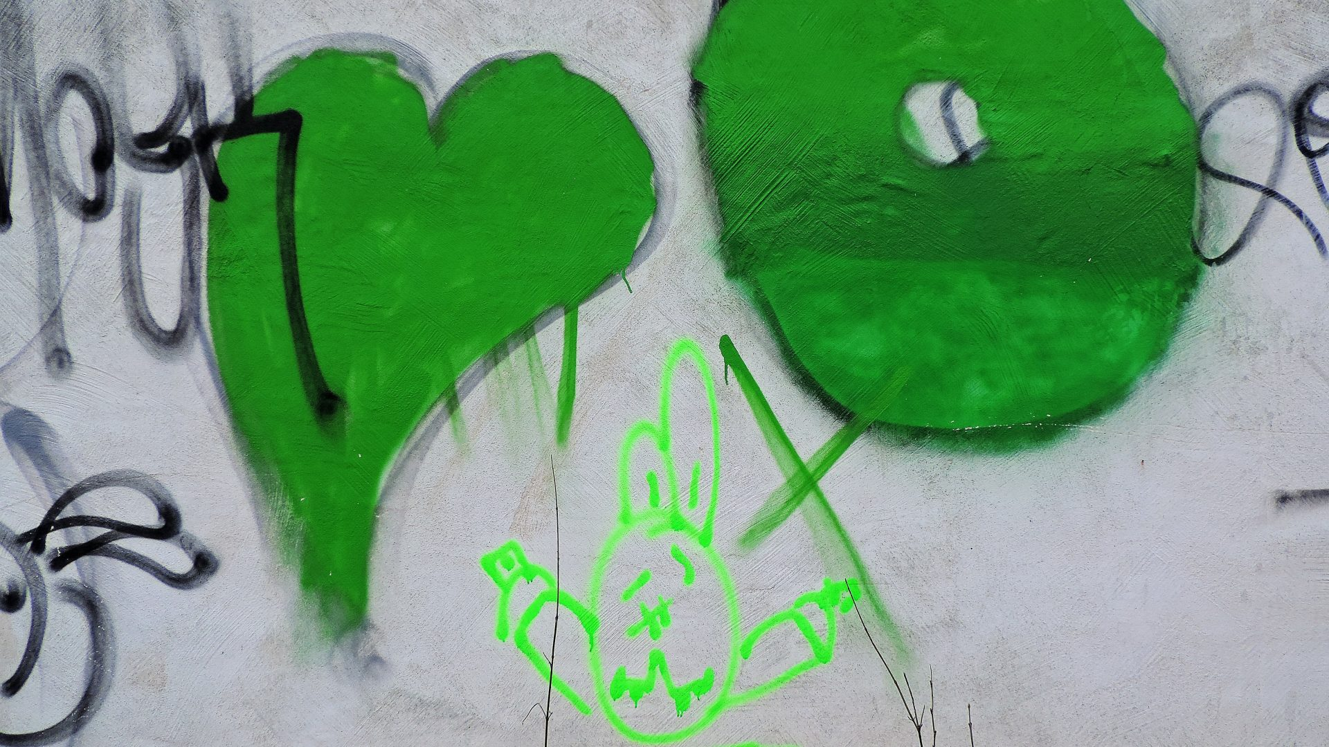 03950 | berliner mauern | berlin, graffiti, green heart