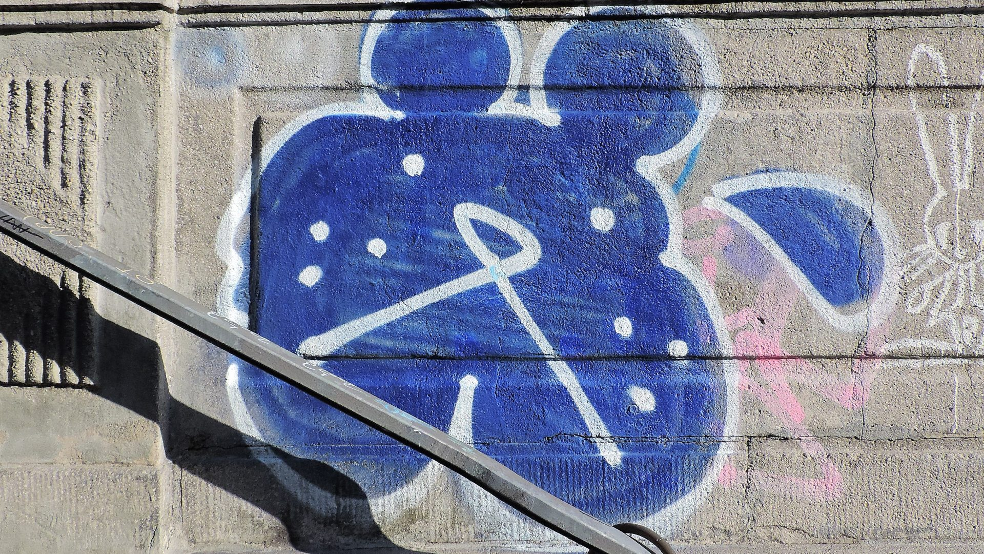 04318 | berliner mauern | berlin, graffiti, rabbit sign