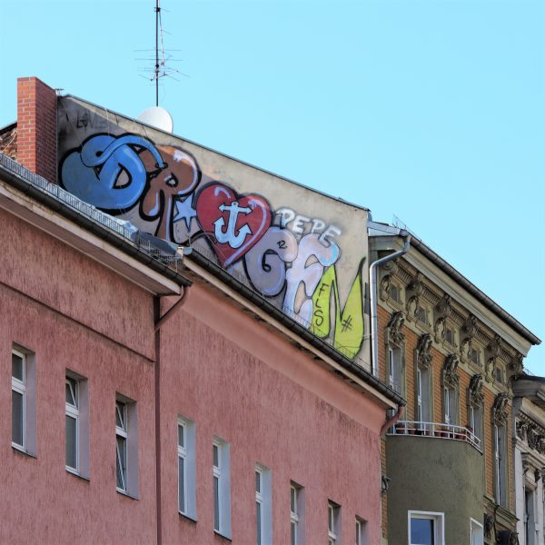 04748 | berliner mauern | berlin, graffiti, roof top