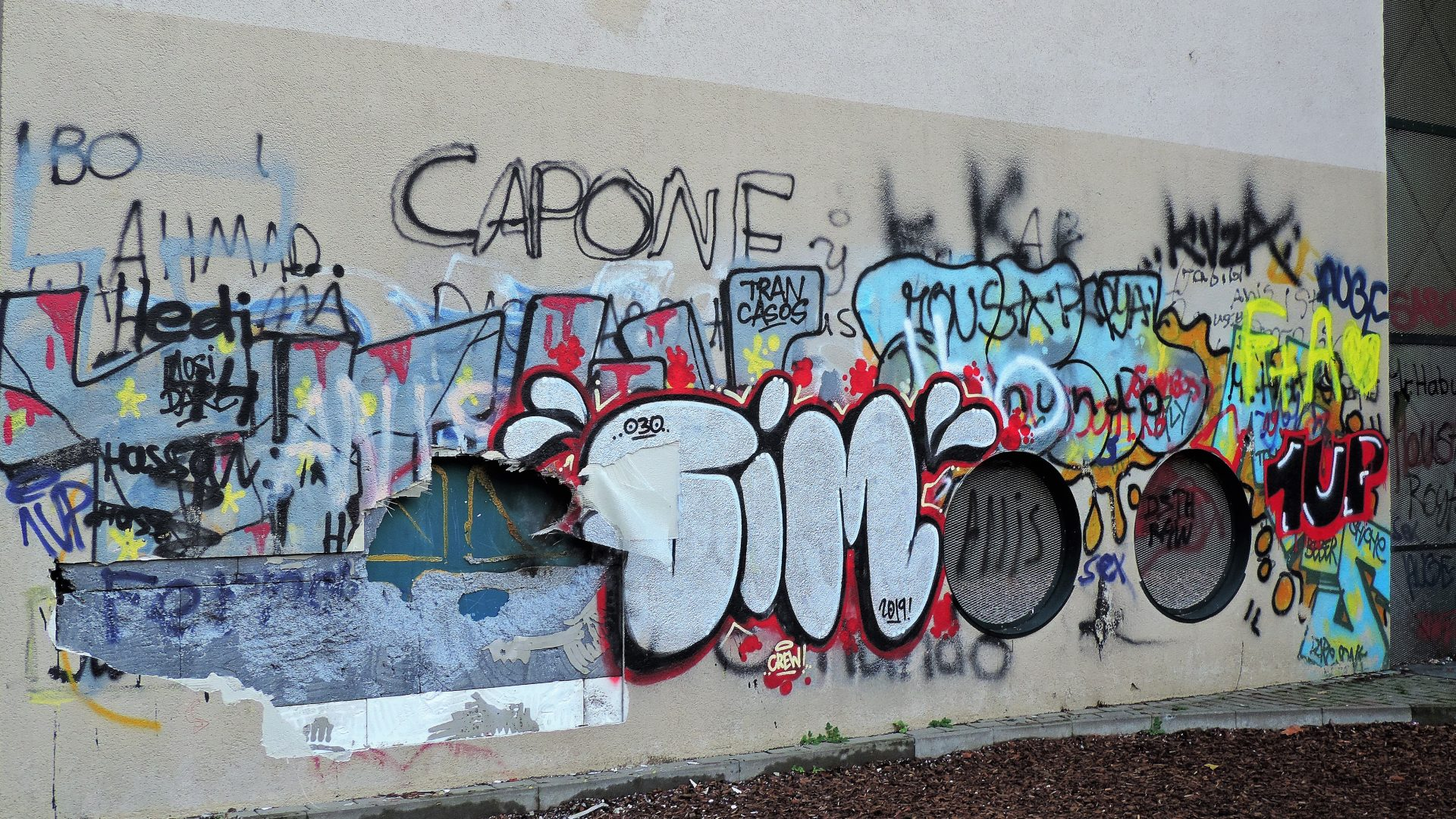 04959 | berliner mauern | berlin, graffiti, tags and throws