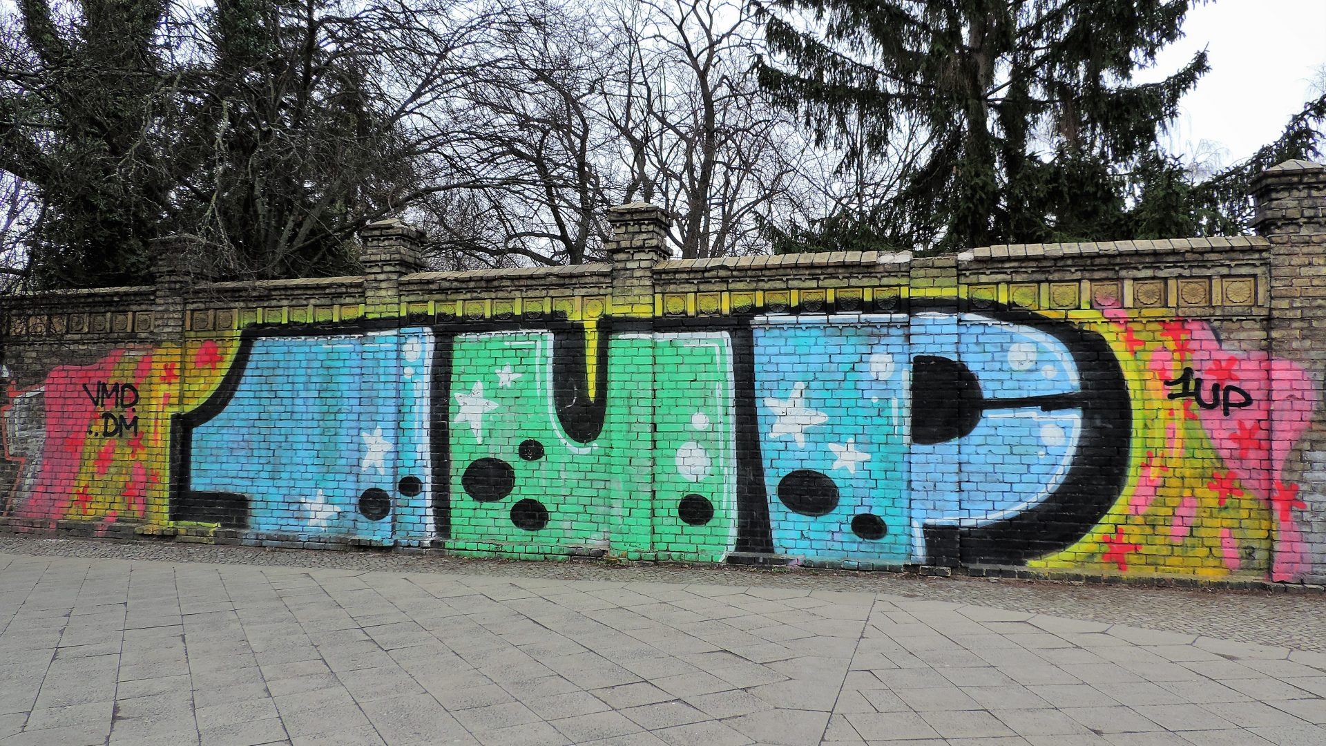 05958 | berliner mauern | berlin, graffito, one united power